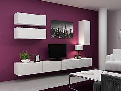 CAMA *Obývací stěna VIGO 13, bílá/bílý lesk