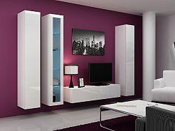 CAMA *Obývací stěna VIGO 15, bílá/bílý lesk