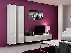 CAMA *Obývací stěna VIGO 4 A, bílá/bílý lesk