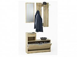DEMEYERE CLOT, předsíňová stěna, dub sonoma