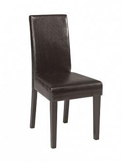 DEMEYERE GEVARA, židle, tmavě hnědá
