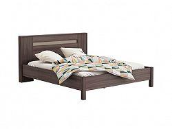 DEMEYERE GIORGIA, postel 160x200 cm, dub vulcano/čedič