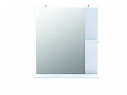 DEMEYERE KORALIE 2, zrcadlo  s poličkou, bílá