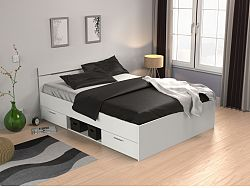 DEMEYERE MACHIGAN, postel 140x190 cm, bílá