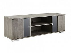 DEMEYERE NEMUR, TV stolek šíře 140 cm, dub prata