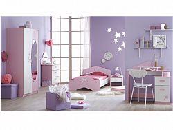 DEMEYERE PAPILON dětský pokoj, bílá/růžová
