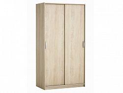 DEMEYERE ROLINK skříň s posuvnými dveřmi, dub sonoma