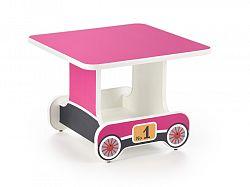 Dětský stůl LOKOMO, růžová