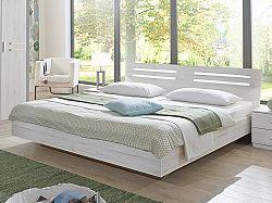 DIGNET SUZAN, postel 160x200 cm, bílý dub