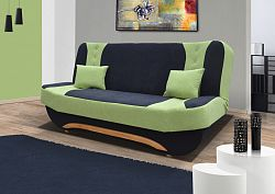 ELTAP Pohovka EVA II, černá/zelená