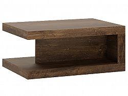 Extom Konferenční stolek SICILY, hidalgo/černý lesk