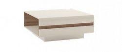 Extom LINATE/70, konferenční stolek, alpská bílá/trufla
