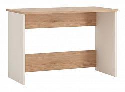 Extom Moderní psací stůl AMAZON, typ 81, san remo/bílý lesk