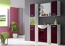 Extom NANCY, koupelnová sestava fialová, BEZ UMYVADLA