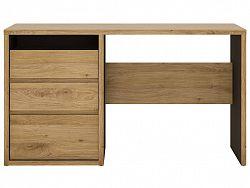 Extom SHETLAND, psací stůl, dub shetland