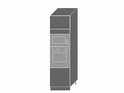 Extom SILVER+, skříňka pro vestavbu D14RU, korpus: grey, barva: black pine