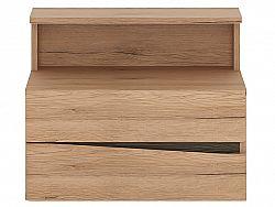 Extom SUMMER, noční stolek 2S, levý, typ 95, san remo světlé