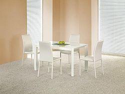 Halmar Jídelní stůl rozkládací STANFORD, bílý lesk