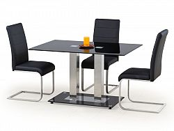 Halmar Jídelní stůl WALTER 2, kov/sklo