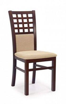 Halmar Jídelní židle GERARD 3, ořech tmavý