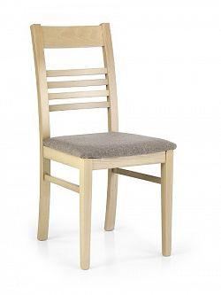 Halmar Jídelní židle JULIUS, dub sonoma/látka