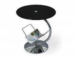 Halmar Konferenční stolek ALMA, černý