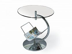 Halmar Konferenční stolek ALMA, čirý