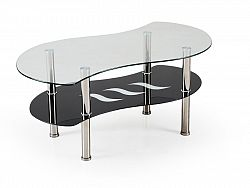 Halmar Konferenční stolek CATANIA, kov/sklo