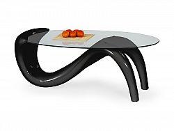 Halmar Konferenční stolek CORTINA, černý