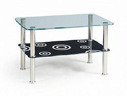 Halmar Konferenční stolek HALIA, černý