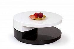 Halmar Konferenční stolek MADELEINE, bílo-černá