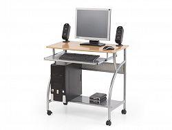 Halmar PC stůl na kolečkách B-6, olše