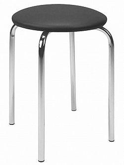 Halmar Stolička židle CHICO, černá