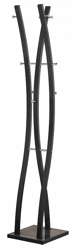 Halmar Věšák  W50, výška 179 cm, černý