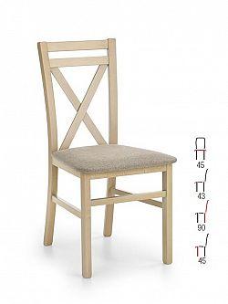 Halmar Židle DARIUS, dub sonoma