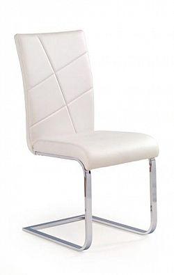 Halmar Židle K108, bílá