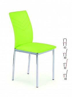 Halmar Židle K137, zelená