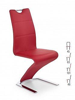 Halmar Židle K188, červená