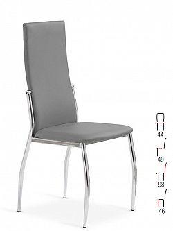 Halmar Židle K3, šedá