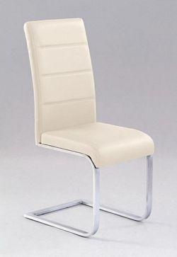 Halmar Židle K85, tmavě krémová