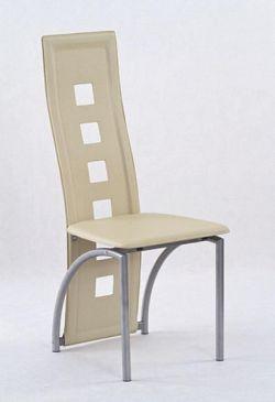 Halmar Židle KA4M, tmavě krémová
