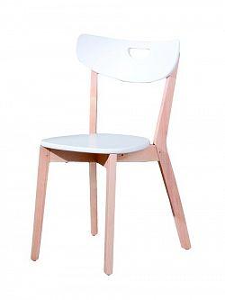 Halmar Židle PEPPI, bílá