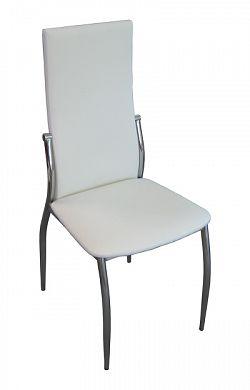 Idea Jídelní židle Ibiza, krémově bílá