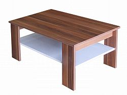 Idea Konferenční stolek S67950-I, ořech/bílá