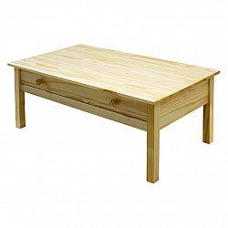 Idea Konferenční stolek TORINO, masiv borovice