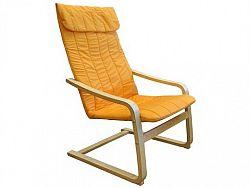 Idea Křeslo LISA, oranžové