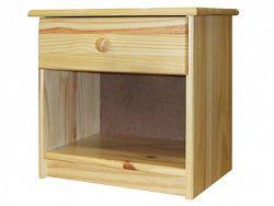Idea Noční stolek 8812, masiv borovice