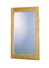 Idea Obdelníkové zrcadlo 837, masiv smrk