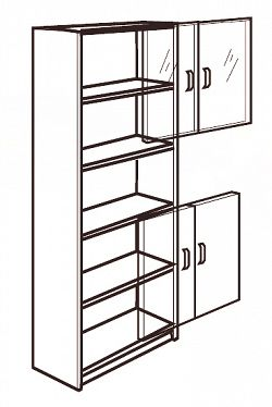 Idea Plné dveře 55, buk