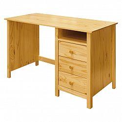 Idea Psací stůl TORINO, masiv borovice